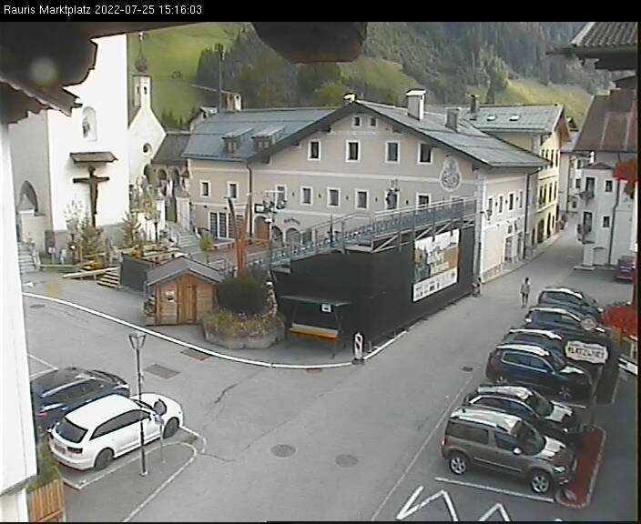 Webcam Marktplatz Rauriser